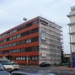 Anstrich-Industriegebäude