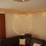Lichtarrangement-Wohnzimmer